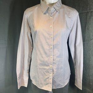 J.Crew Haberdashery Fine Line Woven Dress Shirt